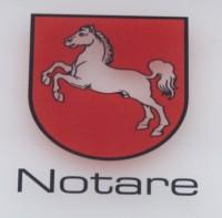 Amtsschild Notariat